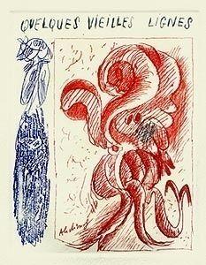 Illustrated Book Alechinsky - A la gare