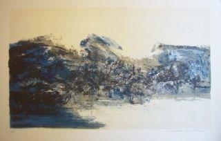 Lithograph Zao - A la gloire de l'image 284