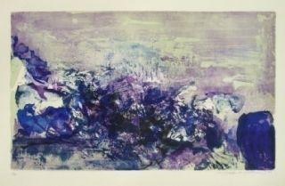 Lithograph Zao - A la gloire de l'image 85