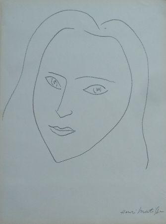 Lithograph Matisse - A la memoire de Angela Lamotte (2)