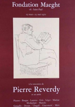 Lithograph Picasso - '' A la Recherche de Pierre Reverdy ''