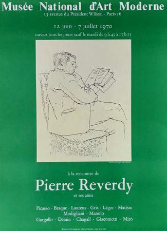 Lithograph Picasso - ''A la Recherde de Pierre Reverdy ''