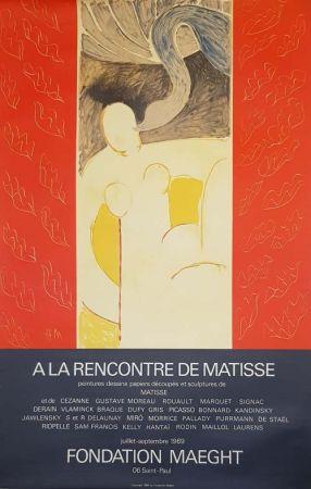 Lithograph Matisse - A la Rencontre de Matisse Fondation Maeght