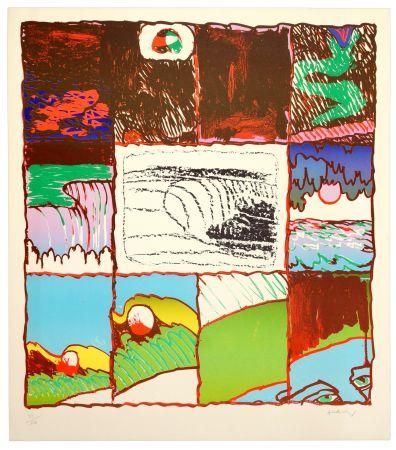 Lithograph Alechinsky - A l'imprimerie
