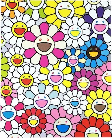 Lithograph Murakami - A Little Flower Painting I
