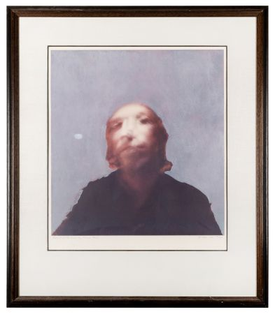 Screenprint Hamilton - A Portrait of the Artist by Francis Bacon