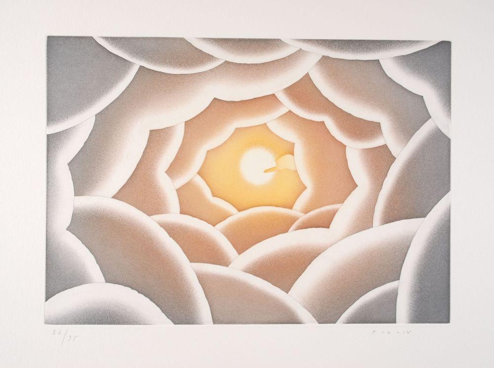 Etching And Aquatint Folon - A propos de la lumière