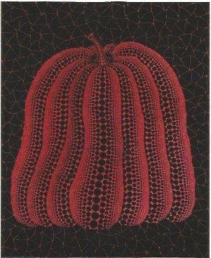 Screenprint Kusama - A pumpkin
