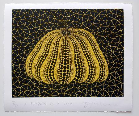 Screenprint Kusama - A Pumpkin YB-D