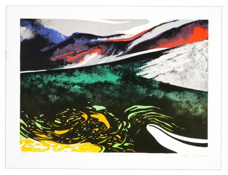 Lithograph Dolma - A storm to come