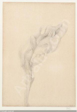 Lithograph De Bruyckere - Aanéén-genaaid