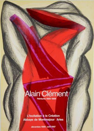 Poster Clement - Abbaye de Montmajour Arles