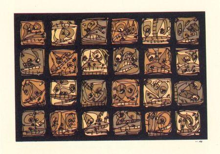 Lithograph Saura - Abierta 2