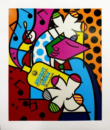 Screenprint Britto - ABSOLUT BRITTO II