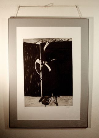 Etching And Aquatint Barjola  - Abstracción II