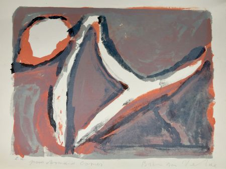 Lithograph Van Velde - Abstract
