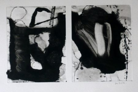 Etching And Aquatint Bird - Abstract 3