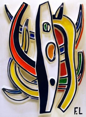 Ceramic Leger - Abstract Composition