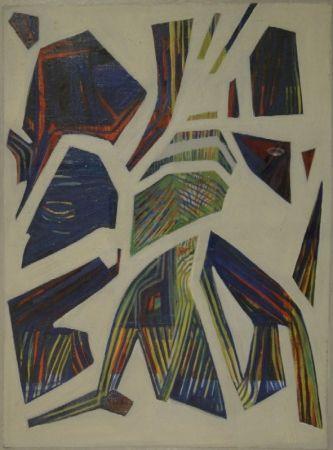 Monotype Spiller - Abstrakte Komposition