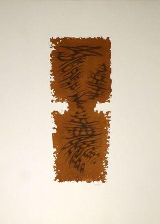 Etching And Aquatint Springer - Abstrakte Komposition