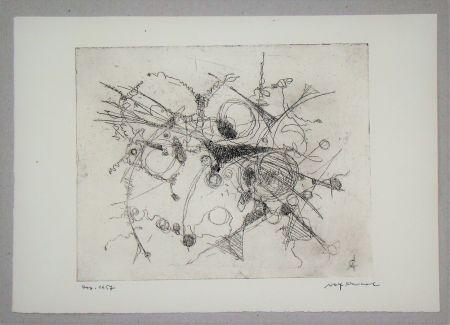 Engraving Cavael - Abstrakte Komposition