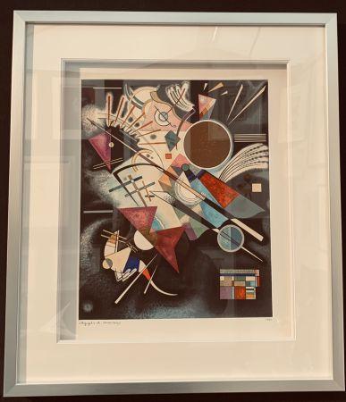 Lithograph Kandinsky - Accompagnement en noir