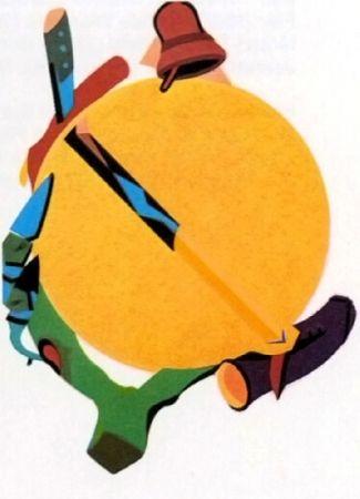 Lithograph Telemaque - Accroche soleil