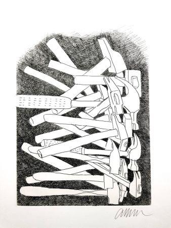 Lithograph Arman - Accumulations
