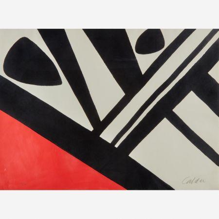 Lithograph Calder - Acier du Constructeur