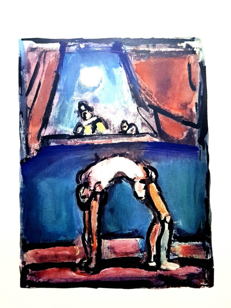 Lithograph Rouault (After) - Acrobate