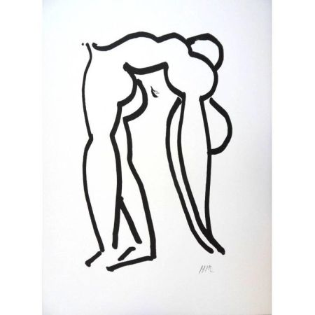 Lithograph Matisse - Acrobate