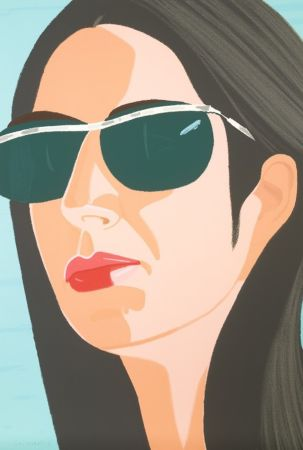 Screenprint Katz - Ada with Sunglasses (Alex and Ada Suite)