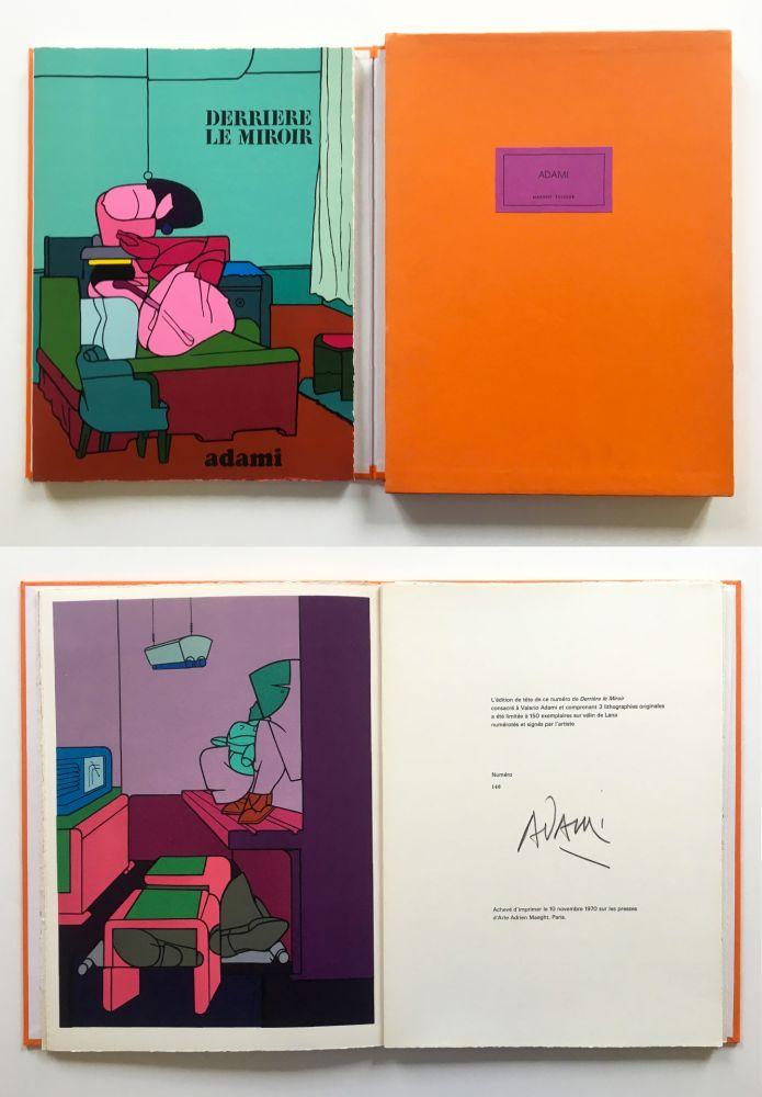 Illustrated Book Adami - ADAMI. Derrière le Miroir n° 188. Nov. 1970. TIRAGE DE LUXE SIGNÉ.