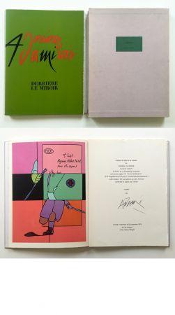 Illustrated Book Adami - ADAMI. Derrière le Miroir n° 206. Nov. 1973. TIRAGE DE LUXE SIGNÉ.