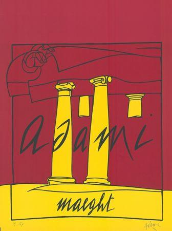 Lithograph Adami - Adami /  Maeght