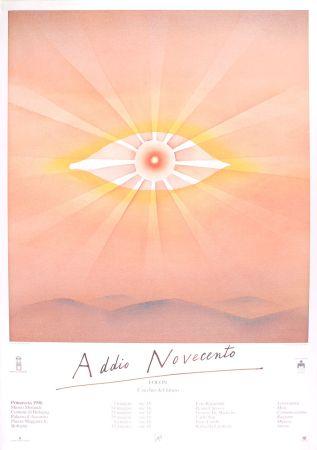 Poster Folon - Addio Novecento
