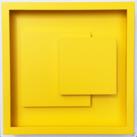 Woodcut Claisse - ADN jaune