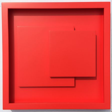 Woodcut Claisse - ADN rouge