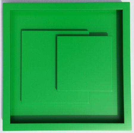 Woodcut Claisse - ADN vert