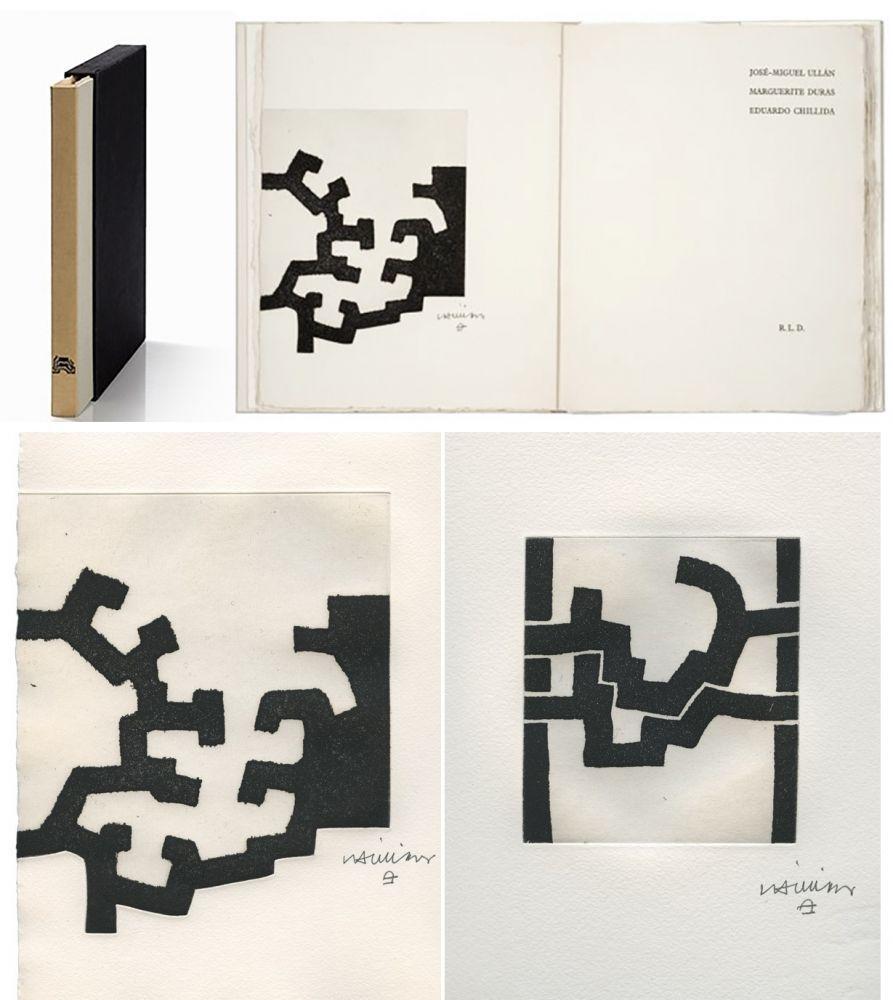 Illustrated Book Chillida - ADORACION. Funeral Mal, I. (José-Miguel ULLAN - Marguerite DURAS (1977).