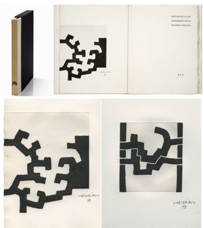 Illustrated Book Chillida - ADORACION. Funeral Mal, I. (José-Miguel ULLAN - Marguerite DURAS (1977).
