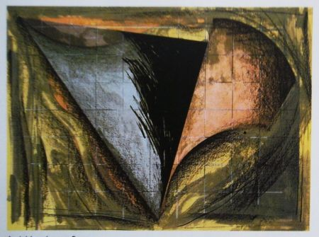 Lithograph Dill - Aerial Landscape 2