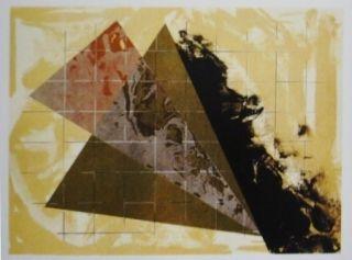 Lithograph Dill - Aerial Landscape 3