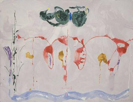 Screenprint Frankenthaler - Aerie