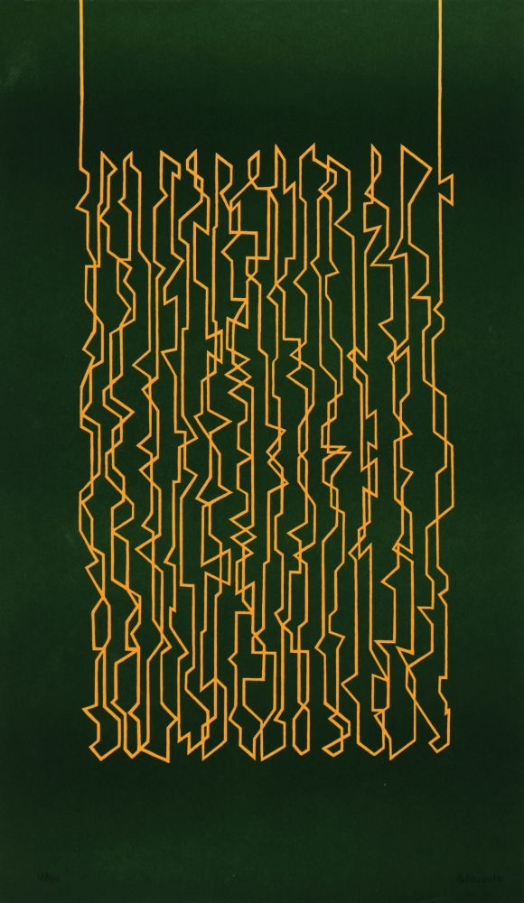 Lithograph Palazuelo -