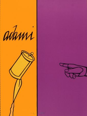 Lithograph Adami - Aff Avt N° 155