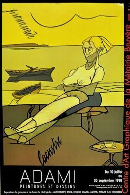Poster Adami - Affiche