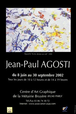 Poster Agosti - Affiche