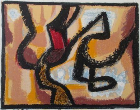 Lithograph Atlan - Affiche avant lettre, signed