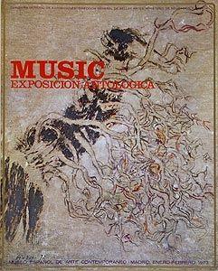 Offset Music - Affiche de l'exposition à Madrid